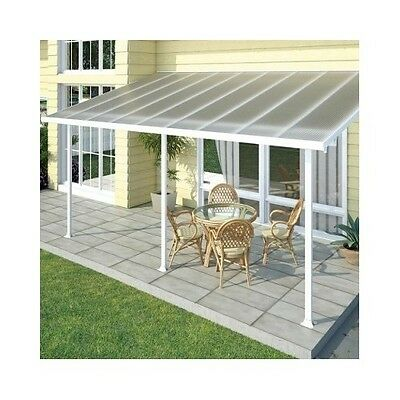 Patio Glaze Cover Outdoor Awning Covers Terrace Canopy Rain Sun Protection Tent