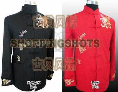 chinese coat clothing clothes for men jacket 073101 red