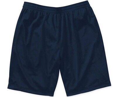 NEW Starter Mens Active Mesh Basketball Running Shorts Navy Sizes Small-3XL  NWT