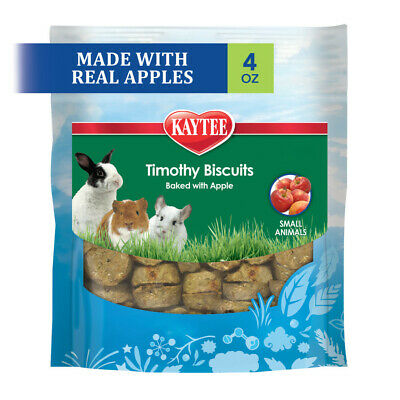 Kaytee Timothy Hay Baked Apples Small  Animal Treats(Free Shipping in USA)