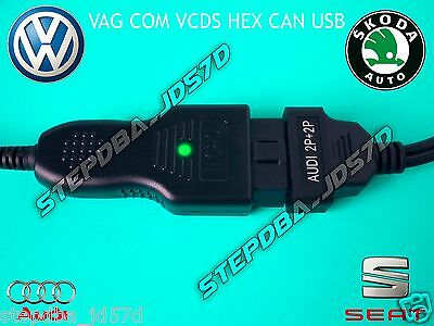 Vag Com Vcds 14.10 1990 2015 Hex Can Usb Obd Ii 2 Complete Diagnostic Kit Vagcom