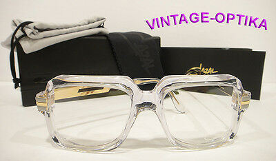 Cazal 607/2 Eyeglasses 607 Legend Crystal Gold (Col-65) Authentic New