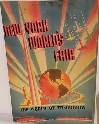 New York World's Fair Booklet, Copyright 1939. Highly Illustrated