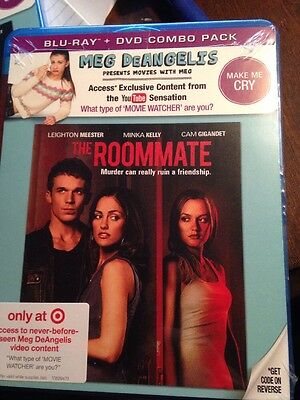 "The Roommate (Blu-Ray + Dvd Combo Pak) Brand New, Sealed ""movies With Meg"