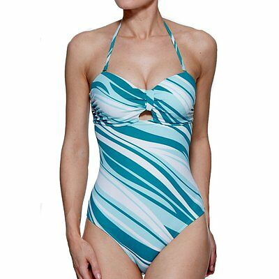 Lepel 'Retro Stripe' Swimsuit - Various Sizes Available (13378)