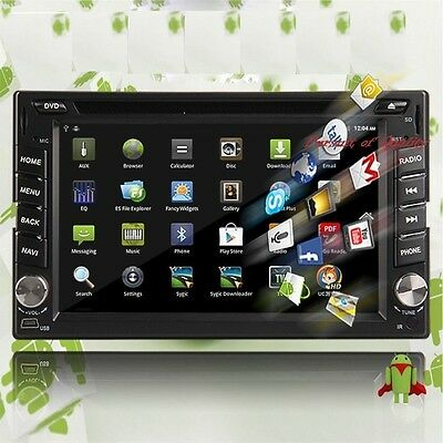 "Android4.4 GPS Navi 6.2""Double 2 Din In-Dash Car DVD Player Radio For Clearance"