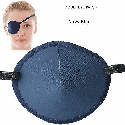 Medical Eye Patch NAVY, Soft and Washable  - Sold to the NHS