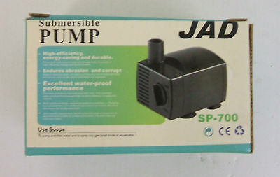 Submersible Water Pump ideal for indoor water features / fish tanks 230 l/hr