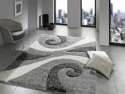 Breeze Shaggy Yinyang Hochflor Langflor Teppich In Grau Viele