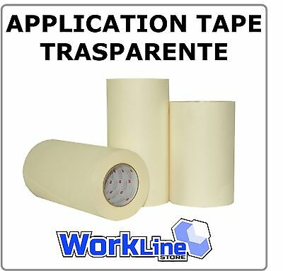 1 RT Application Tape TRASPARENTE - Da 10 a 60 cm