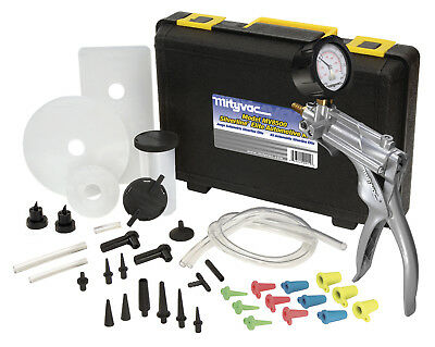 Mityvac MV8500 Silverline Elite Hand Vacuum Pump Automotive Brake Bleeding Kit