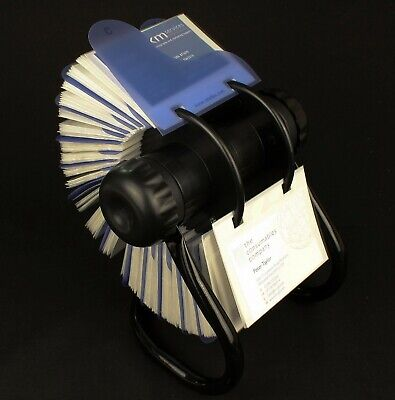 Rotary card filing system 200 business card sleeves file rolodex rotary card filing system 200 business card sleeves file rolodex storage reheart Image collections