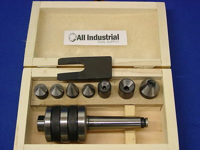"""High Precision 2Mt Universal Live Center Set For Grizzly 7""""x12"""" Mini Metal Lathe"""