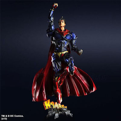 CRAZY TOYS DC Comics Variant Play Arts Kai No.6 Superman Action Figure Figurine