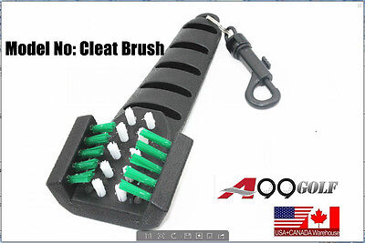 A99 golf Cleaning Brush Golf Iron Club Groove Driver Shoe Cleat Cleaner Scrubber