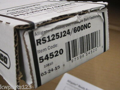 Flexco 54520 Alligator Ready Set Staples RS125J24/600NC