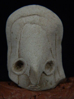Ancient Teracotta Mother Goddess Head Indus Valley 2000 BC   #TR15294
