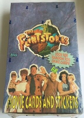 1993 Topps The Flintstones Movie Trading Cards Wax Box
