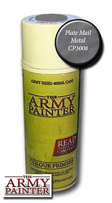 Army Painter Colour Primer Spray Plate Mail Metal