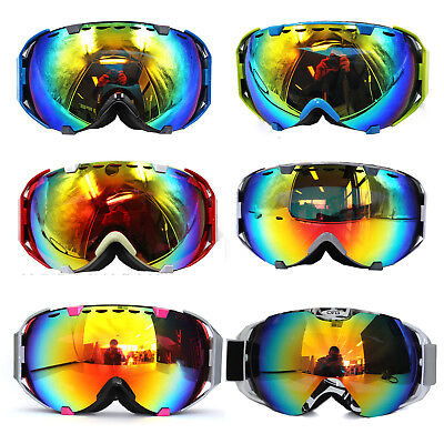 Brand New Pro skiing snowboarding goggles double lens UV anti-fog ski goggles AU