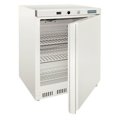 Polar CD611-A Undercounter Commercial Freezer 140Lt White Underbench Cafe