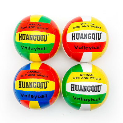Beach Volley Ball Official Size Weight Synthetic Leather Volley Ball