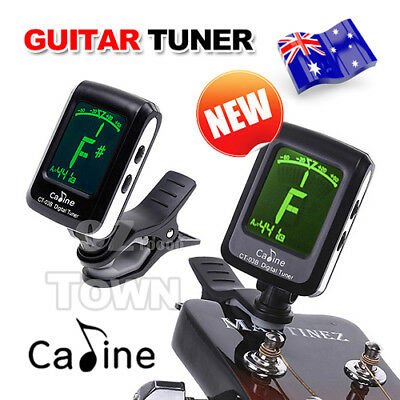LCD Digital Guitar Tuner Clip on For Electronic Chromatic Violin Ukulele Bass