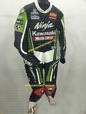 Kawasaki Motorcycle Suit, 1Pc Kawasaki Ninja Leather Motorbike Suit