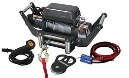 10,000 lb Truck/ Jeep Winch Kit with Speed Mount Hitch Adapter