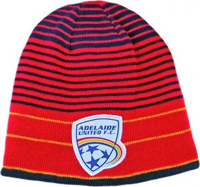 Adelaide United Reversible Beanie- 100% Official A-League Product
