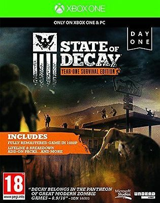 State of Decay Year One Survival Edition Xbox One Game - DIGITAL DOWNLOAD