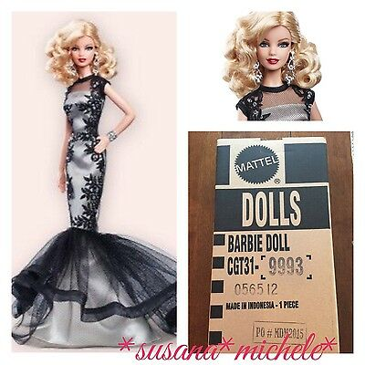 2015 BFC Barbie Classic Evening Gown Platinum Label Doll NEW In Shipper SOLD OUT