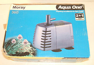 Aqua One Moray 360 Aquarium Fish Tank Pump Powerhead