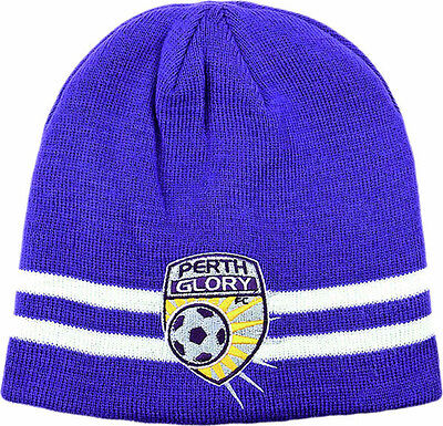 Perth Glory Reversible Beanie- 100% Official A-League Product