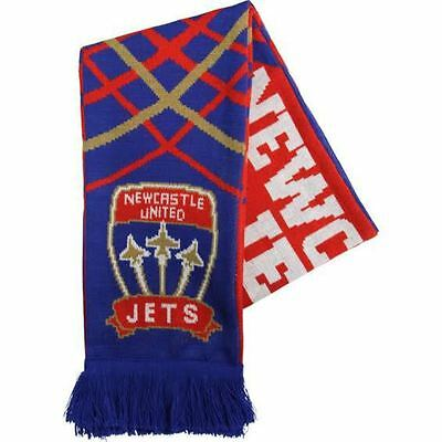 Newcastle United Jets Supporters Scarf- 100% Official A-League Product