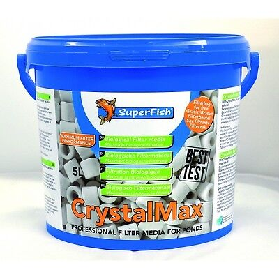 CRYSTAL MAX Media 5 LITRES Superfish