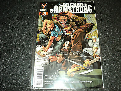Archer and Armstrong Issue 3