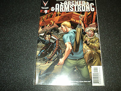Archer and Armstrong Issue 9