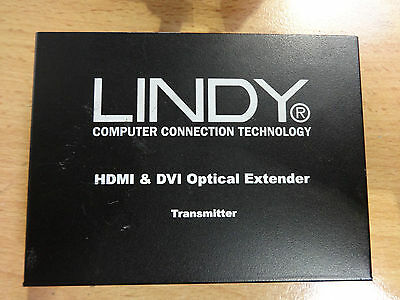 LINDY HDMI & DVI Optical Extender Transmitter / Use 2x LC Fibre up to 100m