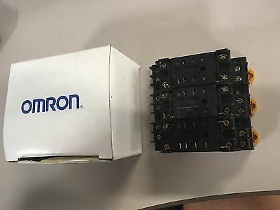 Omron 2-M4 x 10 Relay   NEW, LOT OF 3