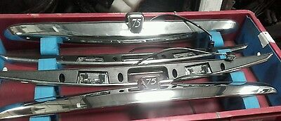 ROVER 75 TOURER (New Genuine) CHROME FINISH TAILGATE ASSEMBLY CXB102540MMM