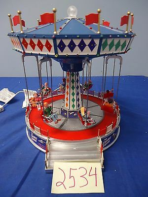 Lemax Village Collection The Cosmic Swing 94956 As-Is 2534
