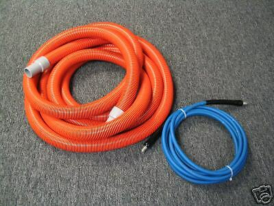 "1.5""x 25' Vac Hose,1/4""x 25' Solution Hose Package Deal"