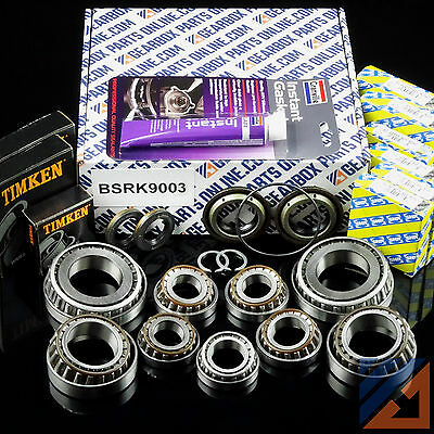 Opel Astra H 1.9 CDTi M32 gearbox pro rebuild kit with diff bearings