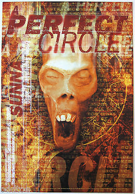 A PERFECT CIRCLE- Orig. 2000 Concert Poster by Frank Wiedemann, Fillmore F-244