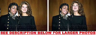 MICHAEL JACKSON 1986 CHECKSHIRT SHOOT 2xRARE8x10 PHOTOS
