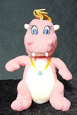 Pink Cassie Dragon Tails Plush Stuffed Animal 6.5in