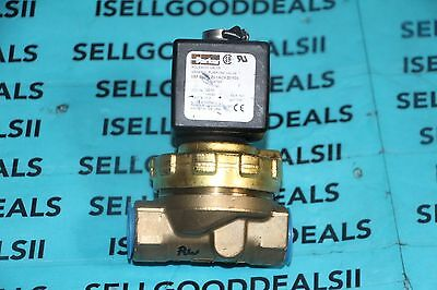 "Parker 08FS5C2-Z01ACFZ0105 Solenoid Valve For Water 1/2"" 120VAC New"