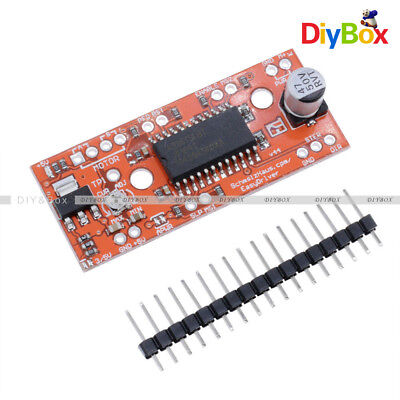 EasyDriver Shield Stepping Stepper Motor Driver A3967 V44 For Arduino D