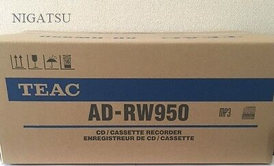 NEW TEAC AD-RW950-S CD recorder and cassette deck Silver  from Japan